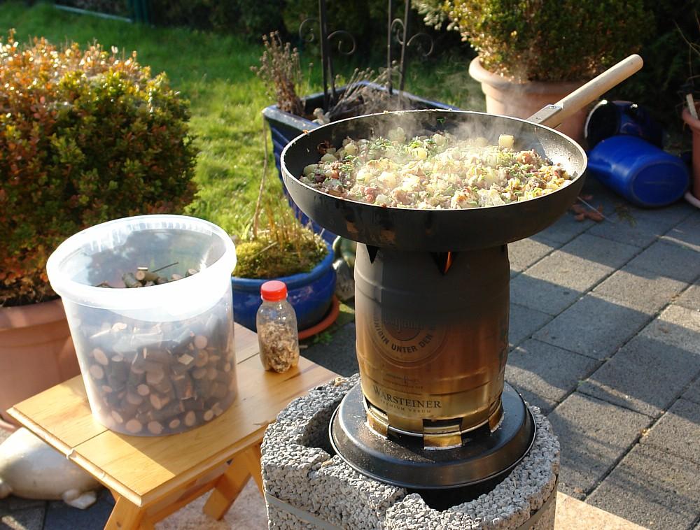 kochen nach vorhandenen zutaten
